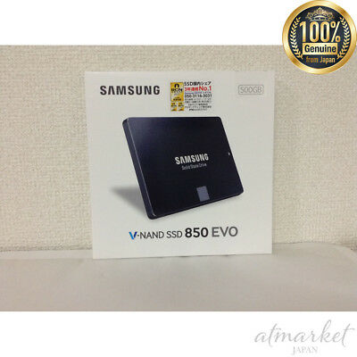 Samsung SSD 500GB 850 EVO Basic Kit V-NAND 2.5 inch MZ-75E500B/IT from JAPAN