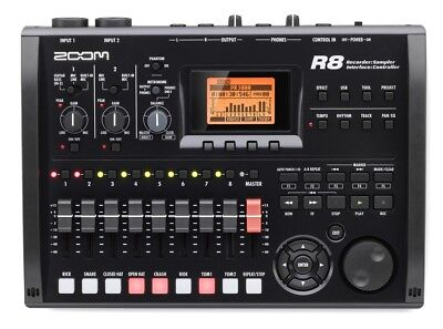 Zoom R8 Digital Multitrack Sd Recorder Interface Controller Sampler Usb R16 R24