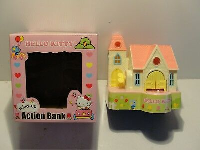 Vintage Hello Kitty Mechanical Action Bank***mint In Original Box***