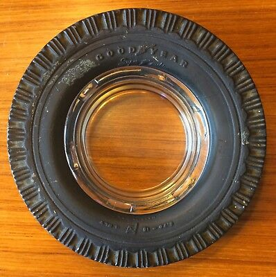 Vintage GOODYEAR 4-Ply TIRE ASHTRAY 6.70-15 Tires Advertising