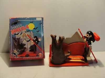 Hasty Dracula Mechanical Action Bank***mint In Original Box***