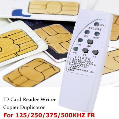 CR66 125/250/375/500KHz RFID ID Card Indicator Light With Copier Buttons 3