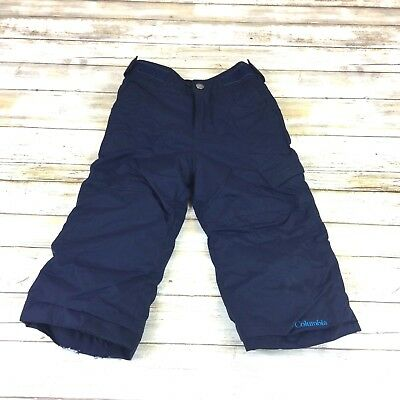 Columbia - Size 2 Toddler - Navy Out Grow System Snow Winter Pants