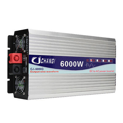 Intelligent Screen Pure Sine Wave Power Inverter 12V/24V To 220V