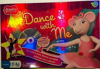 Angelina Ballerina Dance With Me Game - Complete w/CD *NEW/SEALED* Free Shipping