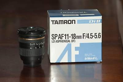 Tamron Zoom Super Wide Angle SP 11-18mm f/4.5-5.6 Di-II LD Aspherical (IF) Lens