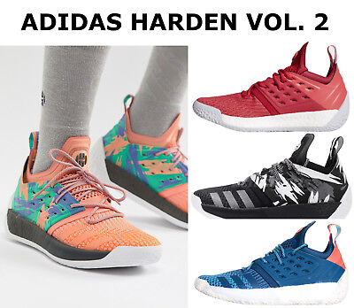 Adidas Harden Vol 2 Mens Basketball Shoes Boost Cushioning Sock-Like Fit NEW 1cd40a27e