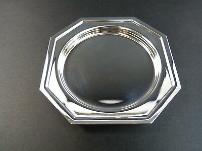ITALY Silver Plate - PM Argente - Octagonal Coaster / Coasters