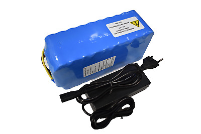 Pacco Batteria + Charger 2A, litio 36V 13Ah 481Wh 10S5P con BSM 40A. ebike