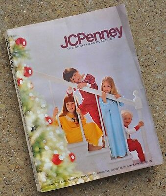 1971 JC Penny Christmas Catalog 471 pages, great shape! Toys - Clothing - Games