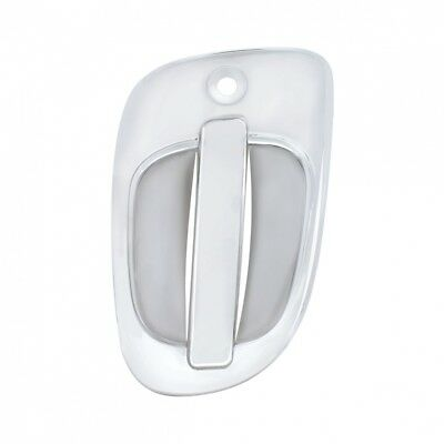 Chrome Plastic Freightliner Exterior Door Handle Cover - Driver