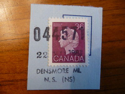Canada #926a USED on piece / clear cancel