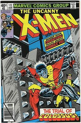 X-Men #122 9.2 NM- Colossus John Byrne Bronze Age Marvel High grade