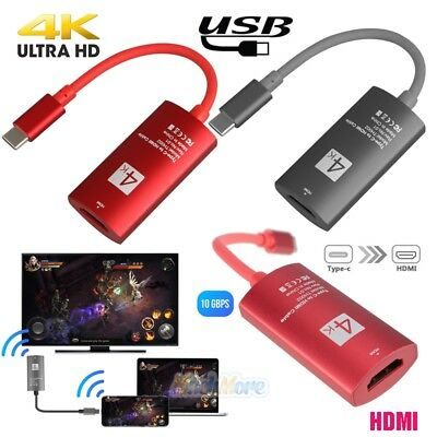 USB-C Type-C 3.1 to HDMI 4K*2K HDTV Adapter for Samsung Galaxy S9/S8 MacBook Pro