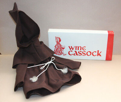 "Wine Bottle Sock/Cover ~ ""Wine Cassock"""