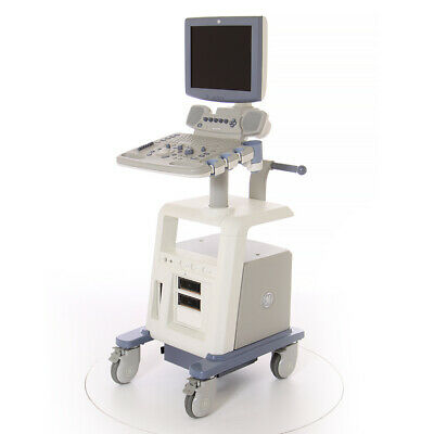 """15"""" GE Logiq P5 Ultrasound Machine - System ONLY with LCD Monitor"""