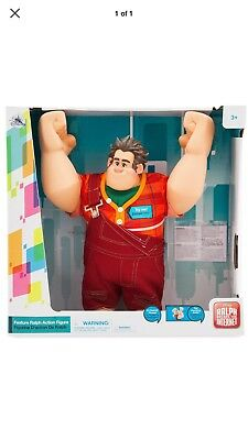 "Wreck it Ralph Breaks the internet Talking & Fist pounding Doll 16"" Disney Store"