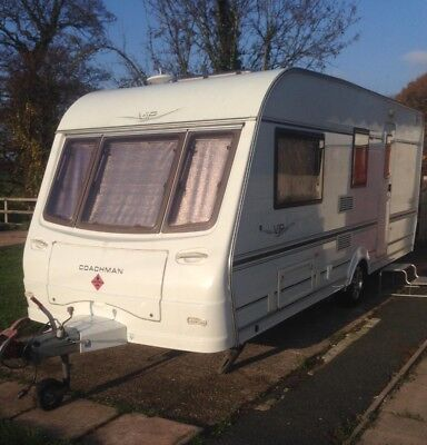 Coachman vip 4berth,2005, motor mover, no reserve.. like brand new