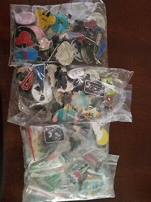 disney trading pins lot of 20 *preowned no duplicates, 100% tradable