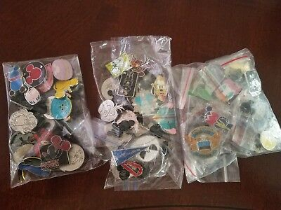 disney trading pins, lot of 20 *preowned no duplicates 100% tradable