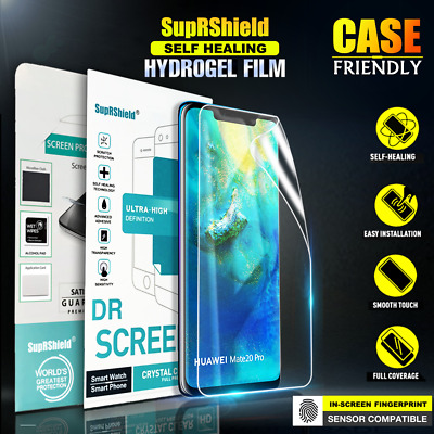 SupRShield Huawei Mate 20 Pro P30 Pro HYDROGEL Full Coverage Screen Protector