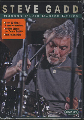Steve Gadd Hudson Music Master Series Drum Tuition DVD Learn How To Play Drumset