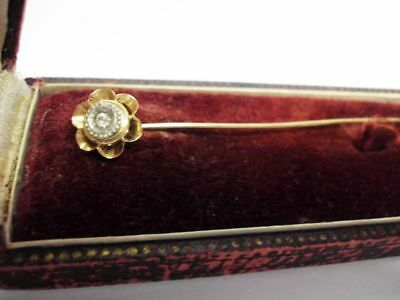 antike Krawattennadel 19,2ct Gold-Portugal-beautiful antique solid gold tie pin