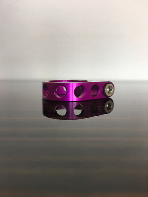 1994 Ringle Ti-Bolt Collar 3DV purple 31.8 Stix seat post clamp 1 1/4 27.2