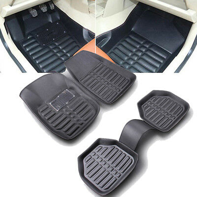 New 5pcs Universal Car Truck Floor Mats FloorLiner Front&Rear Carpet Weather Mat