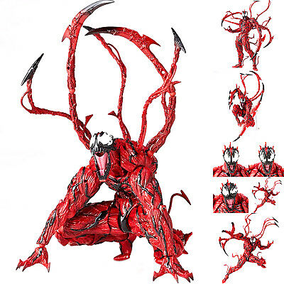 """6""""Yamaguchi Marvel Carnage Red Venom PVC Action Figure Model Toy Gift Collection"""