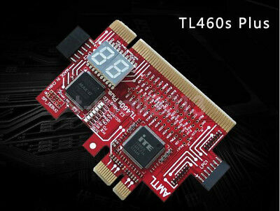 TL460S PLUS PC PCI PCI-E Motherboard Diagnostic Tester Analyzer Card LPC DEBUG