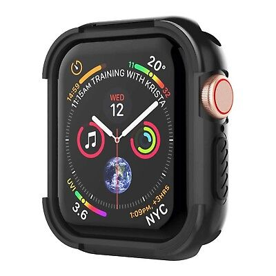 UMTELE Compatible with Apple Watch 4 Case 44mm 2018, Shock Proof Protective