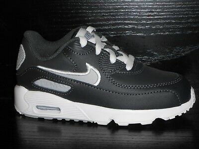 new arrival 1c499 88887 Nike Air Max 90 TD Leather Toddler Anthracite Grey Size 3.5-8.5 RRP £45