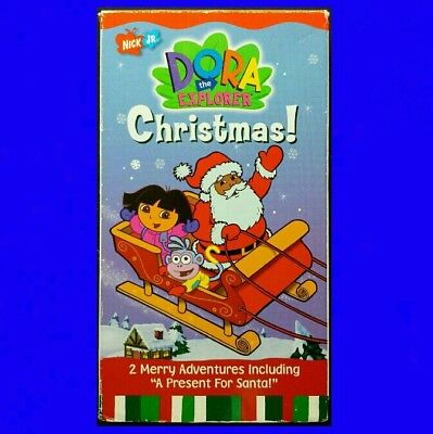 DORA THE EXPLORER ● CHRISTMAS! Preschoolers Patterns Counting Helping Others VHS