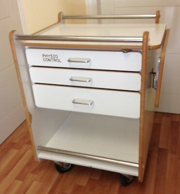 Physio Control Medical Trolley, Resuscitation, Crash Cart, Beauty, Tool, Storage