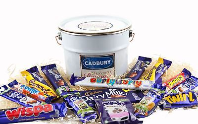 Cadbury Bucket of Chocolate 15 Piece Cadbury Chocolate Hamper Selection box tin