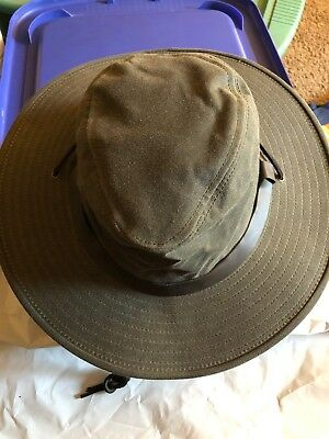 12d2c9abe85 VINTAGE FILSON MENS Shelter Cloth Bush Hat Size Small New With Tags ...