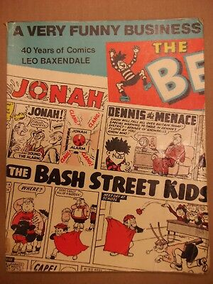 A Very Funny Business - 40 Years Of Comics - Book By Leo Baxendale