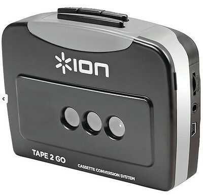 Ion Audio Cassette Tape to MP3 Converter Tape2Go Software Ships from US Seller