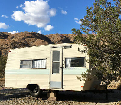 Vintage 1968 Prowler, restored travel trailer camper