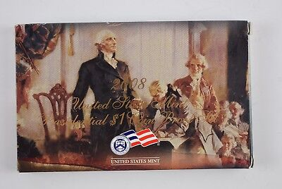 2008-S  United States Mint Presidential $1.00 Coin Proof Set