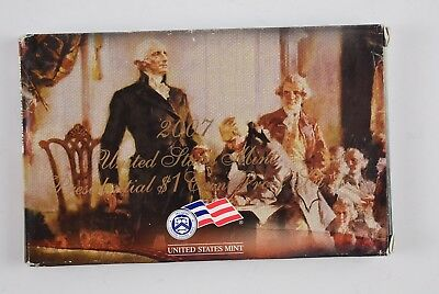 2007-S  United States Mint Presidential $1.00 Coin Proof Set