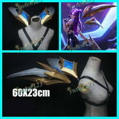 Game League of Legends KDA Evelynn Fingers EVA Gold Paw Claw LOL Cosplay Props