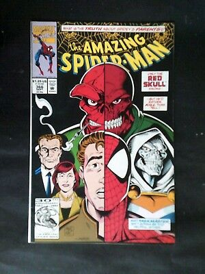 The Amazing Spider Man #366 Sep 1992 Red Skull Marvel Comics Comic Book