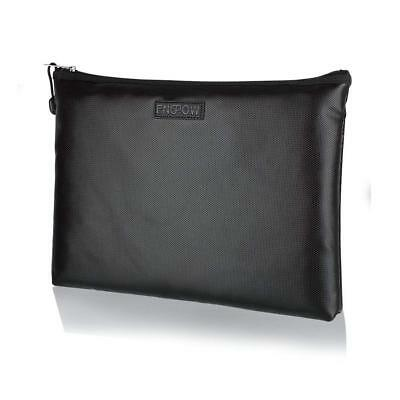 Fireproof Safe Money Document Bag NON-ITCHY Silicone Coated Fire Water Resistant