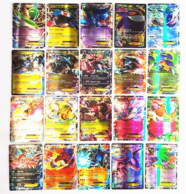 Pokemon Card Lot 100 TCG Cards Ultra Rare Included - GX EX MEGA
