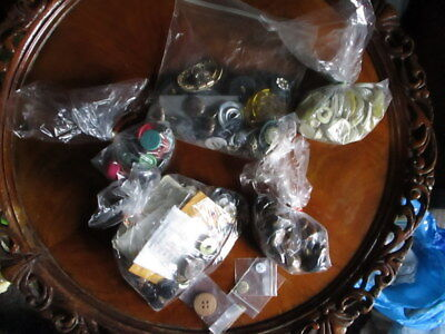 LOT OF  ANTIQUE, VINTAGE, MID-CENTURY BUTTONS-Many Matching Sets