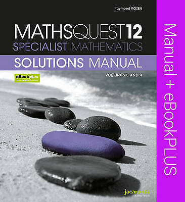 ATAR NOTES VCE Specialist Mathematics Units 3 and 4 book 2