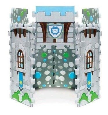RARE P'kolino 2-in-1 Soft Foam Play Mat Castle Fort Playing Pad discontinued