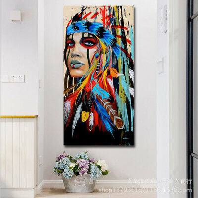 New Modern Abstract Oil Painting Canvas Wall Art Poster Print Picture Home Decor
